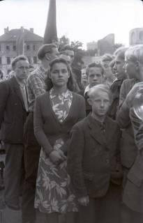 ARH NL Koberg 1057, Kundgebung der SPD auf dem Waterlooplatz, Hannover, 1946