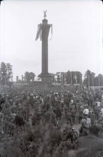 ARH NL Koberg 1061, Kundgebung der SPD auf dem Waterlooplatz, Hannover, 1946
