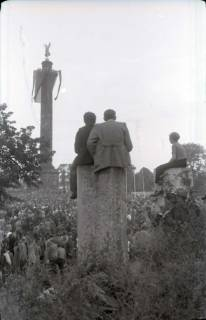 ARH NL Koberg 1062, Kundgebung der SPD auf dem Waterlooplatz, Hannover, 1946