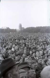ARH NL Koberg 1063, Kundgebung der SPD auf dem Waterlooplatz, Hannover, 1947