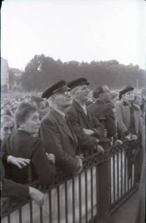 ARH NL Koberg 1064, Kundgebung der SPD auf dem Waterlooplatz, Hannover, 1946