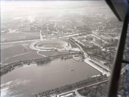 ARH NL Koberg 107, Niedersachsenstadion, Schützenplatz und Maschsee, Hannover, 1957