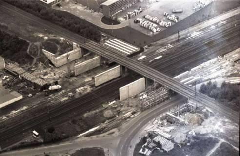 ARH NL Koberg 1110, Brückenbau (Am Mittelfelde), Hannover, 1960