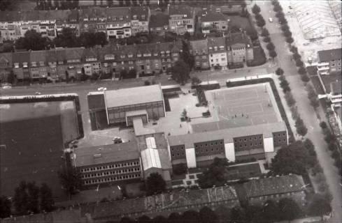 ARH NL Koberg 1118, Freiherr-vom-Stein Schule (heute Sophienschule an der Ecke Lüerstraße-Schackstraße), Oststadt, 1960