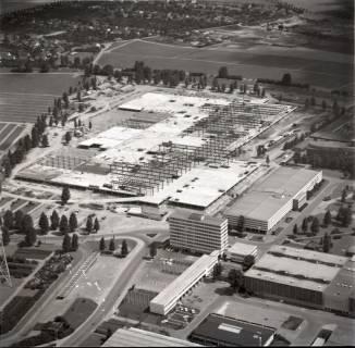 ARH NL Koberg 1137, Neubau einer Messehalle auf dem Messegelände, Hannover, 1969