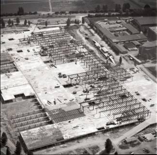 ARH NL Koberg 1139, Neubau einer Messehalle auf dem Messegelände, Hannover, 1969