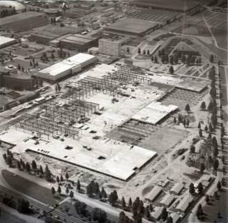 ARH NL Koberg 1140, Neubau einer Messehalle auf dem Messegelände, Hannover, 1969
