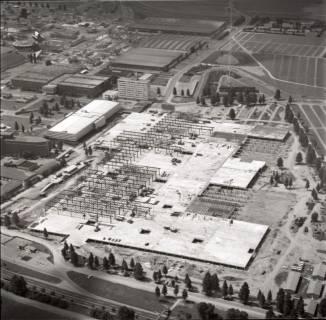 ARH NL Koberg 1141, Neubau einer Messehalle auf dem Messegelände, Hannover, 1969