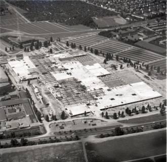 ARH NL Koberg 1142, Neubau einer Messehalle auf dem Messegelände, Hannover, 1969