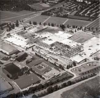 ARH NL Koberg 1143, Neubau einer Messehalle auf dem Messegelände, Hannover, 1969