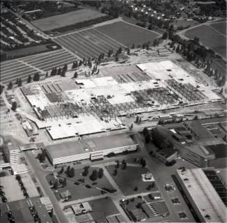 ARH NL Koberg 1144, Neubau einer Messehalle auf dem Messegelände, Hannover, 1969