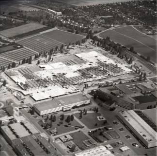 ARH NL Koberg 1145, Neubau einer Messehalle auf dem Messegelände, Hannover, 1969