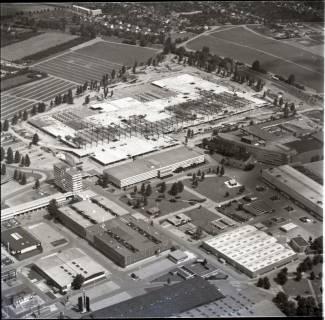 ARH NL Koberg 1146, Neubau einer Messehalle auf dem Messegelände, Hannover, 1969