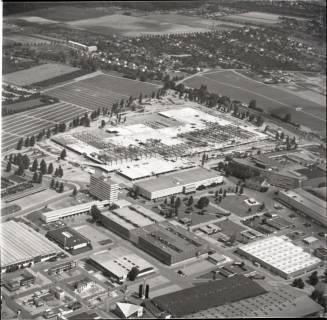 ARH NL Koberg 1147, Neubau einer Messehalle auf dem Messegelände, Hannover, 1969