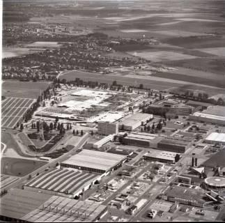 ARH NL Koberg 1148, Neubau einer Messehalle auf dem Messegelände, Hannover, 1969