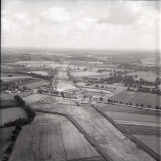 ARH NL Koberg 1243, Autobahnbaustelle, Langenhagen?, 1969
