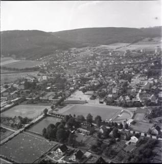 ARH NL Koberg 1317, Sportplatz und Freibad, Springe, 1969