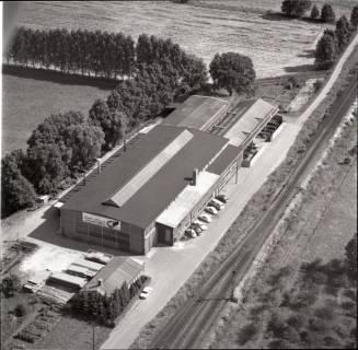 """ARH NL Koberg 1364, Stahlbau """"Ernst Hugo"""", Kaltenweide, 1969"""