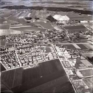 ARH NL Koberg 1457, Stadtansicht mit Kaliberg, Empelde, 1969