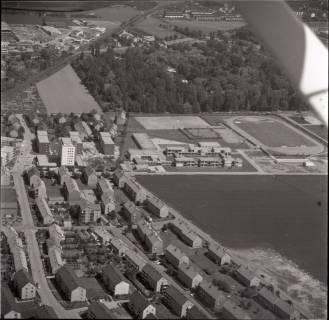 ARH NL Koberg 1522, Neubaugebiet mit Sportplatz, Empelde, 1969