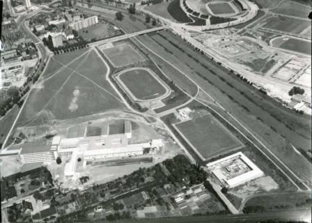 ARH NL Koberg 154, Hochschule Hannover und Niedersachsenstadion, Hannover, 1961