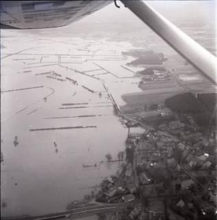 ARH NL Koberg 1573, Leinehochwasser, Leinetal von Helstorf bis Schwarmstedt, 1970