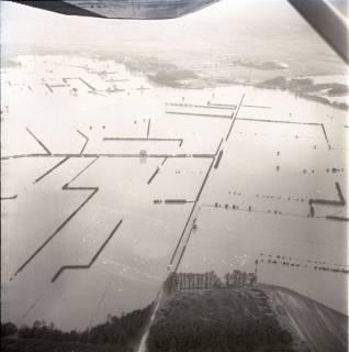 ARH NL Koberg 1576, Leinehochwasser, Leinetal von Helstorf bis Schwarmstedt, 1970