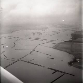 ARH NL Koberg 1578, Leinehochwasser, Leinetal von Helstorf bis Schwarmstedt, 1970