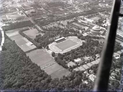 ARH NL Koberg 158, Hannover, u. a. mit Stadthalle, Stadtpark und Eilenriedestadion, 1961