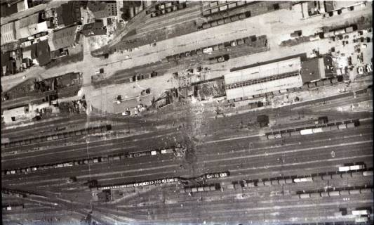 ARH NL Koberg 1585, Explosionsunglück auf dem Güterverladebahnhof, Linden, 1969