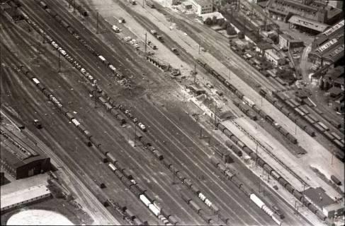 ARH NL Koberg 1587, Explosionsunglück auf dem Güterverladebahnhof, Linden, 1969