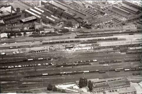 ARH NL Koberg 1590, Explosionsunglück auf dem Güterverladebahnhof, Linden, 1969