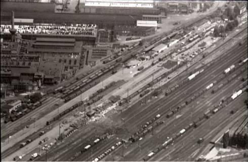 ARH NL Koberg 1592, Explosionsunglück auf dem Güterverladebahnhof, Linden, 1969