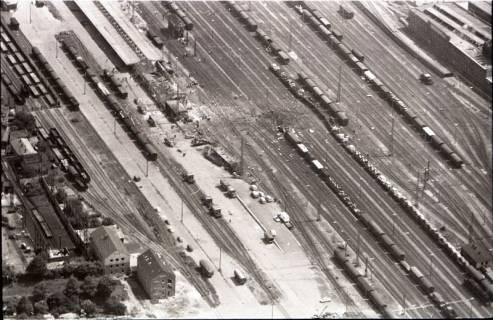 ARH NL Koberg 1597, Explosionsunglück auf dem Güterverladebahnhof, Linden, 1969