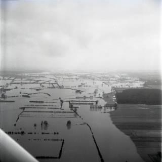 ARH NL Koberg 1611, Leinehochwasser, Leinetal, Bothmer bis Allermündung, 1970