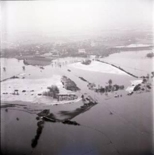 ARH NL Koberg 1618, Leinehochwasser, Rethen, 1970