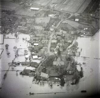 ARH NL Koberg 1627, Leinehochwasser, Leinetal Mandelsloh, Schloß Ricklingen, Seelze, 1970
