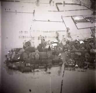 ARH NL Koberg 1628, Leinehochwasser, Leinetal Mandelsloh, Schloß Ricklingen, Seelze, 1970