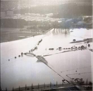 ARH NL Koberg 1638, Leinehochwasser, Garbsen, 1970