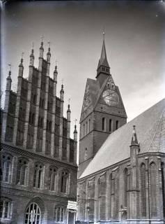 ARH NL Koberg 166, Altes Rathaus und Marktkirche, Hannover, 1965