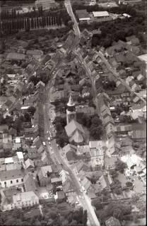 ARH NL Koberg 1768, Stadtgebiet mit Kirche, Gronau, 1971