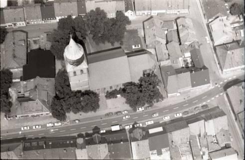 ARH NL Koberg 1784, Stadtgebiet mit Kirche, Gronau, 1971