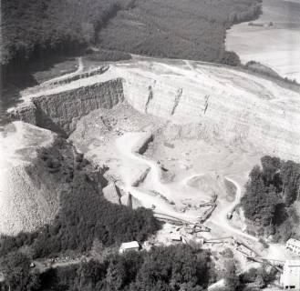 ARH NL Koberg 1835, Steinbruch über Rehren am Wesergebirge, 1971