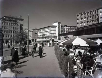 ARH NL Koberg 185, Café am Kröpcke, Hannover, wohl 1954