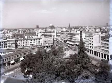 ARH NL Koberg 190, Blick von der Oper auf den Kröpcke, Hannover, wohl 1952