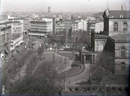 ARH NL Koberg 191, Georgstraße und Oper, Hannover, wohl 1952
