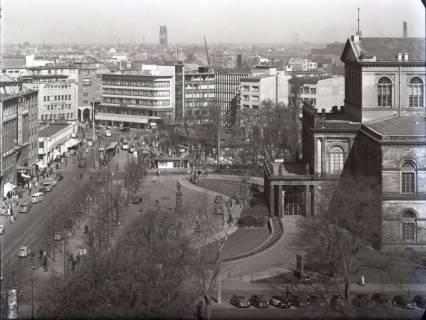 ARH NL Koberg 192, Georgstraße und Oper, Hannover, wohl 1952