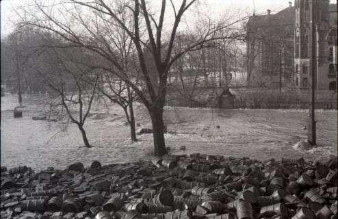 ARH NL Koberg 1961, Blick vom Leineschloss zum Waterlooplatz, Hannover, 1946