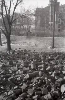 ARH NL Koberg 1962, Blick vom Leineschloss zum Waterlooplatz, Hannover, 1946
