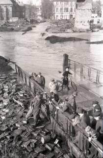 ARH NL Koberg 1963, Leinehochwasser, Goethestraße, Glocksee, Waterlooplatz, Hannover, 1946